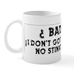 No Badges Mug