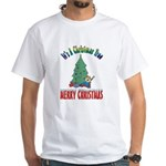 Christmas Tree White T-Shirt
