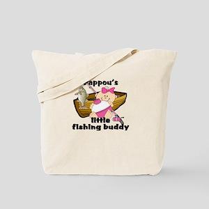 Pappou's Fishing Buddy Tote Bag