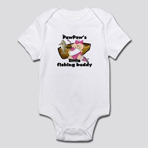 PawPaw's Fishing Buddy Infant Bodysuit