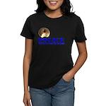 Police We'll Kick Your Ass Women's Dark T-Shirt