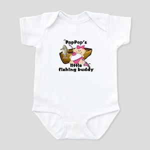 PopPop's Fishing Buddy Infant Bodysuit