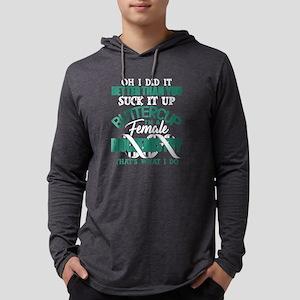I Am Female Biochemistry T Shi Long Sleeve T-Shirt