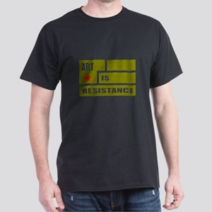 Resistance: Olive Drab Dark T-Shirt