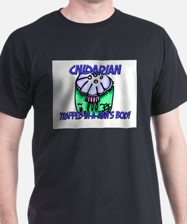 Cnidarian Trapped In A Man's Body T-Shirt