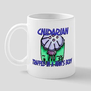 Cnidarian Trapped In A Man's Body Mug