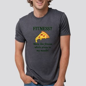 FITNESS? More like fitness whole pizza in T-Shirt