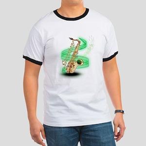 Saxophone Wrap Ringer T