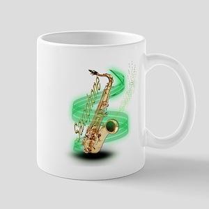 Saxophone Wrap Mug