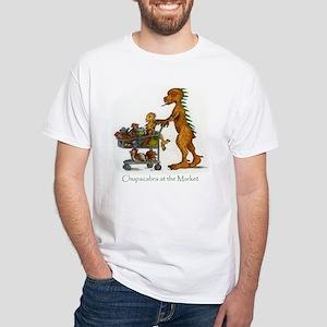 Chupi Shopping White T-Shirt
