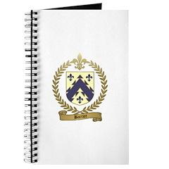 BARRIOT Family Crest Journal