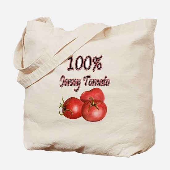 Jersey Girl Jersey Tomato Tote Bag