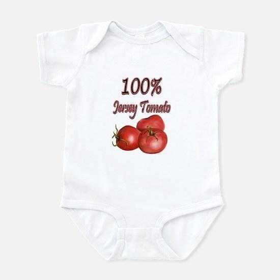 Jersey Girl Jersey Tomato Infant Bodysuit