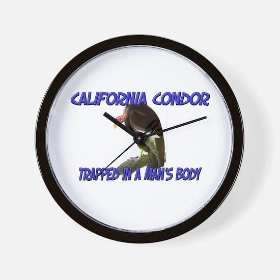 California Condor Trapped In A Man's Body Wall Clo