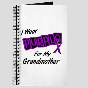 I Wear Purple For My Grandmother 8 Journal