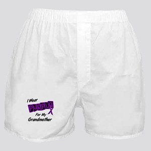 I Wear Purple For My Grandmother 8 Boxer Shorts