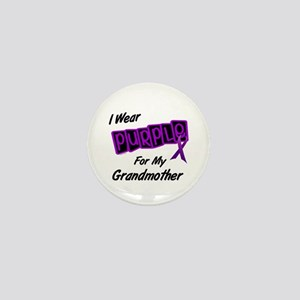 I Wear Purple For My Grandmother 8 Mini Button