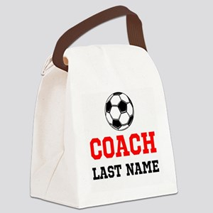Soccer Coach Canvas Lunch Bag