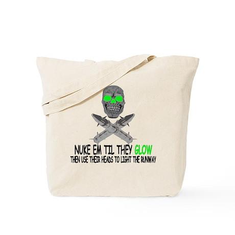 Nuke em Tote Bag