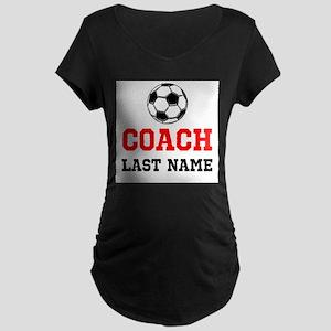Soccer Coach Maternity T-Shirt
