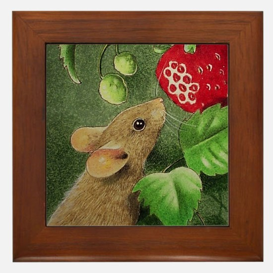 Mouse Art Framed Tile