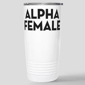 Alpha Female Stainless Steel Travel Mug
