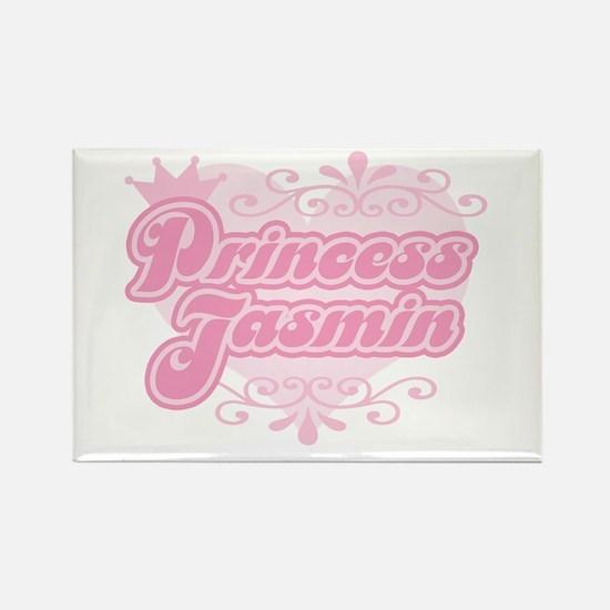 """""""Princess Jasmin"""" Rectangle Magnet"""