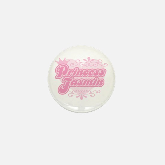 """Princess Jasmin"" Mini Button"