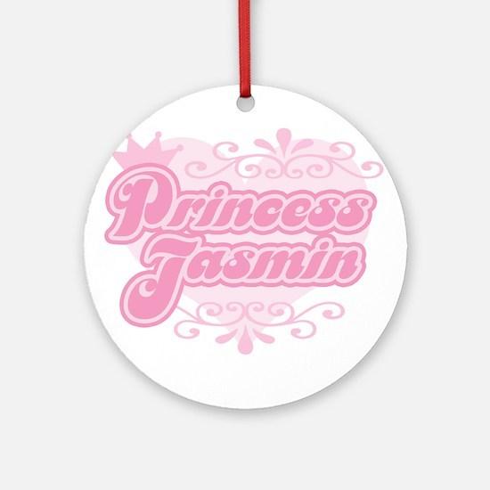 """Princess Jasmin"" Ornament (Round)"
