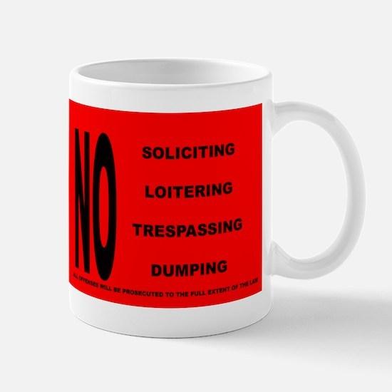 Unique Soliciting Mug