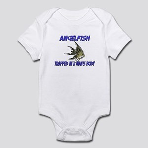 Angelfish Trapped In A Man's Body Infant Bodysuit