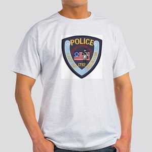 Trenton PD Ash Grey T-Shirt