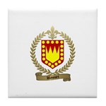 BASSET Family Crest Tile Coaster