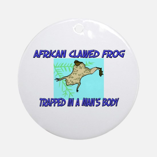 African Clawed Frog Trapped In A Man's Body Orname