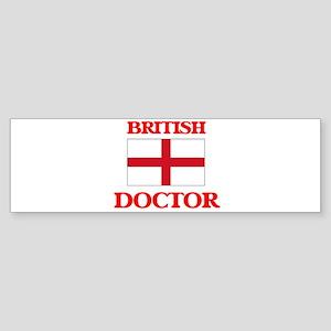 British Doctor Bumper Sticker