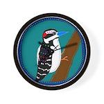 Woodpecker Wall Clock