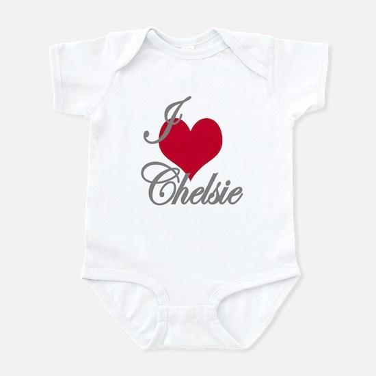 I love (heart) Chelsie Infant Bodysuit