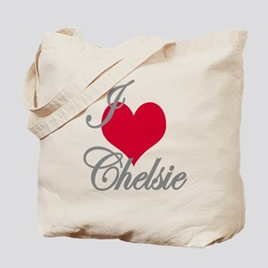 I love (heart) Chelsie Tote Bag
