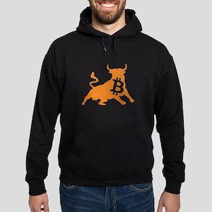 Bitcoin Bull Crypto Currency BTC Sweatshirt