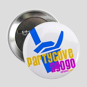 """Party Cove A GoGo Rock Logo 2.25"""" Button"""