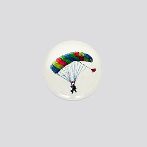 Sky Diver Mini Button (10 pack)