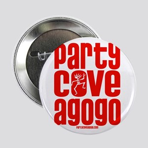 """Party Cove A GoGo Logo1 2.25"""" Button"""