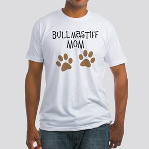 Bullmastiff Mom Fitted T-Shirt
