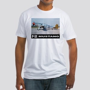 P-51D Mustang Fitted T-Shirt