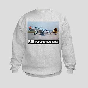 P-51D Mustang Kids Sweatshirt