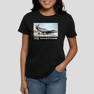 P-51D Mustang Women's Dark T-Shirt