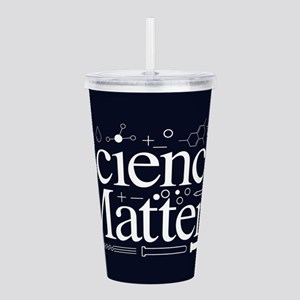 Science Matters Acrylic Double-wall Tumbler