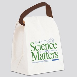 Science Matters Canvas Lunch Bag