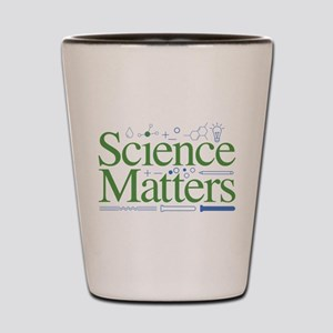 Science Matters Shot Glass