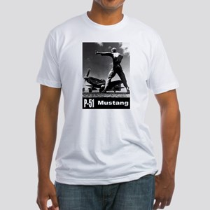 P-51 Mustang Fitted T-Shirt